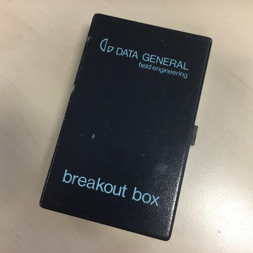 Data General Breakout Box Field Engineering