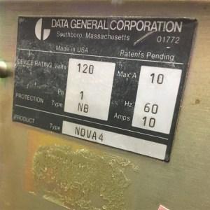 Data General Nova 4/C
