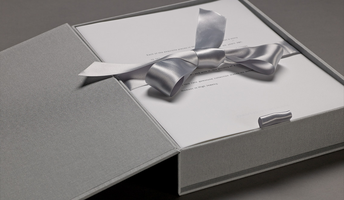 David Yurman High Jewelry Presentation Box Printing by DATAGRAPHIC
