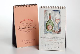 Laurent-Perrier Promotional Calendar