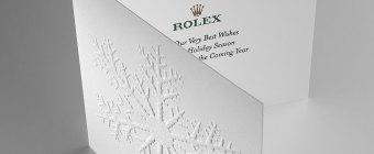 embossed holiday cards