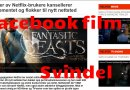 Facebook filmstrømmings svindel