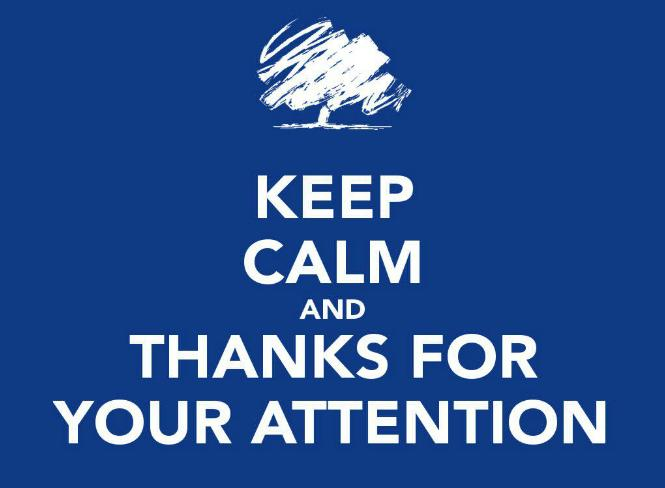 Keep Calm Attention