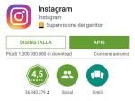 Instagram: 1 miliardo di installazioni sul play store