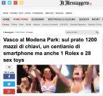 """La """"Bufala"""" su Vasco Rossi Dice Molto sui Giornali Italiani"""