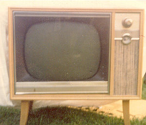 English: TV receiver