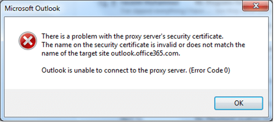 Quick Tips to Deal with a Security Certificate Error in Outlook ...