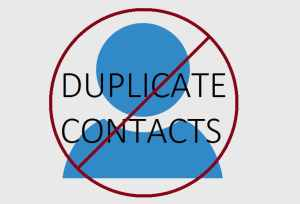 Prevent Duplicate Contacts in Outlook