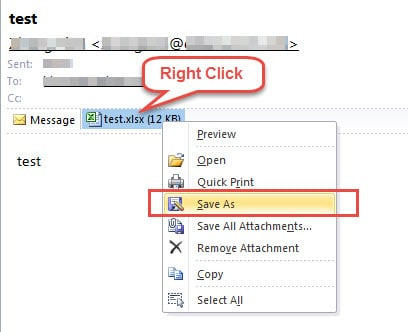 How to Change the Default Programs to Open Outlook Attachments