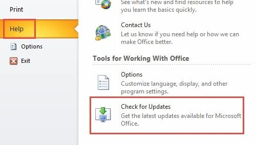 Keep Outlook Updated