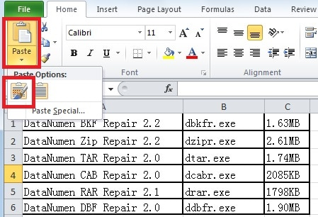 How To Copy Tables From Word To Excel Data Recovery Blog
