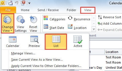 How to Remove Birthday Reminders in Batches from Outlook
