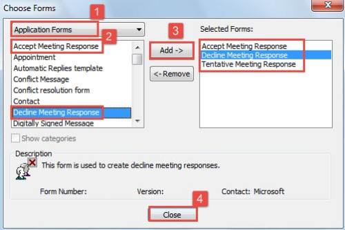 why not auto move meeting responses to a specific folder to keep