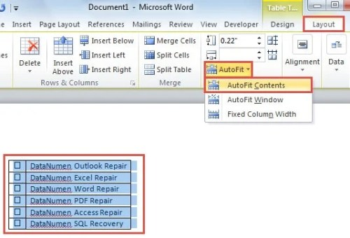 how to put a checkbox in word