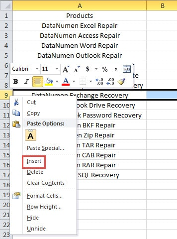 4 Effective Methods to Insert Multiple Rows or Columns into
