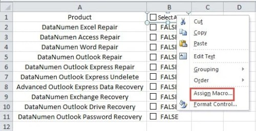 How to Quickly Select or Unselect all Checkboxes in Your