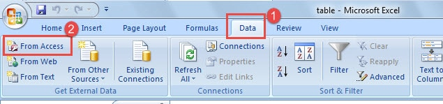 How to Work with Access in Your Excel - Data Recovery Blog
