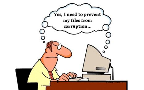 Prevent File Corruptions