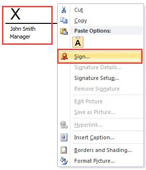 2 Methods to Add Digital Signature to Your Word Document - Data