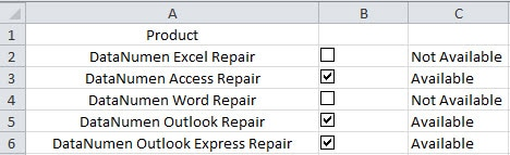 excel checkbox assign macro