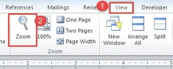 2 Ways to Change the Default Zoom Level of Your Word Document - Data ...