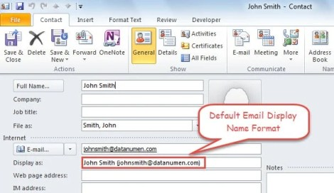 how to send change of email address to all contacts