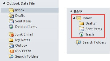 Difference Between POP3 Account and IMAP Account