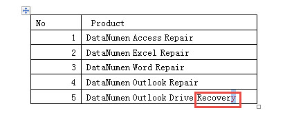 how to change size of cells in word table