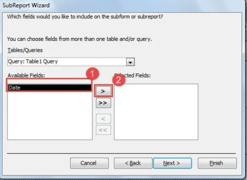 How to Add Multiple Queries in One MS Access Report - Data