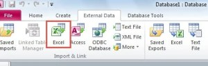 Import Excel File To Access