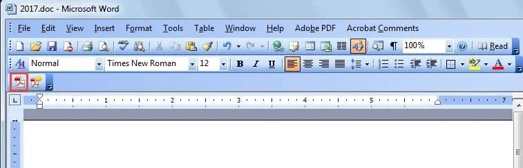 Save As PDF Icon