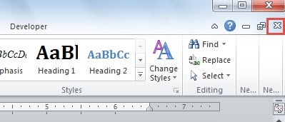 4 Quick Ways to Close a Single Word Document without Closing Word