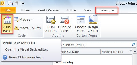 How to Auto Send a Notification Email When a Meeting Reminder Alerts