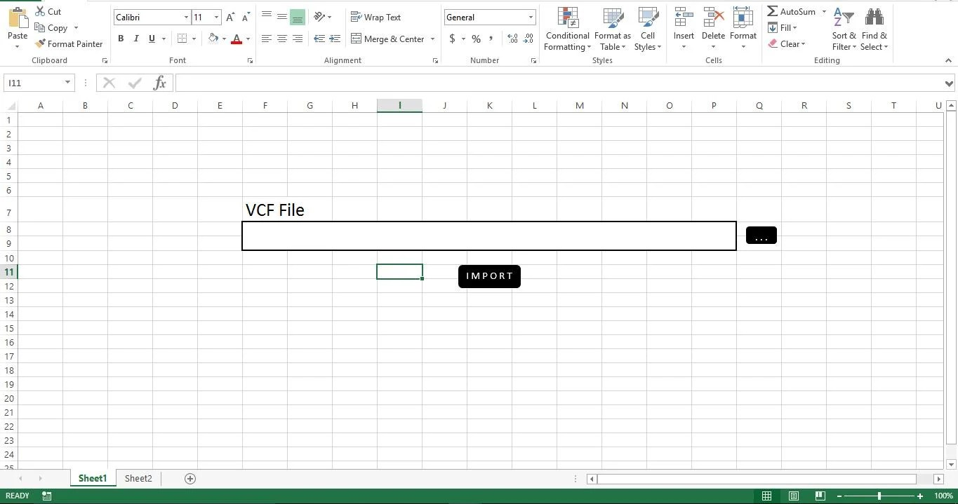 Prepare The GUI For Our VCF Reader Application