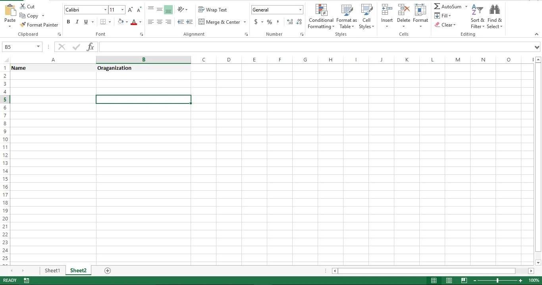 Using Sheet2 As Database