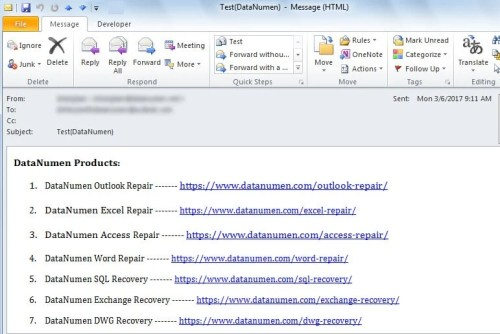 2 Methods to Remove All the Hyperlinks in Your Outlook Email