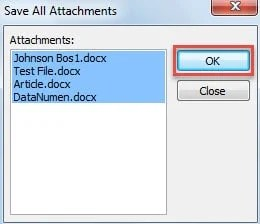 2 Methods to Batch Open All the Attachments in Your Outlook