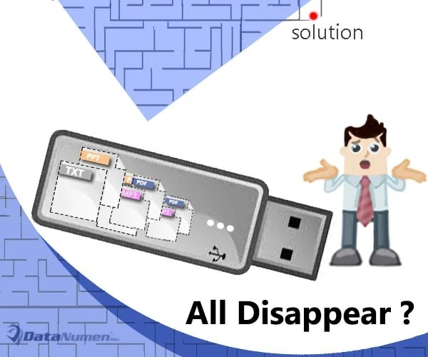 What to Do If Your USB Flash Drive Shows as Empty