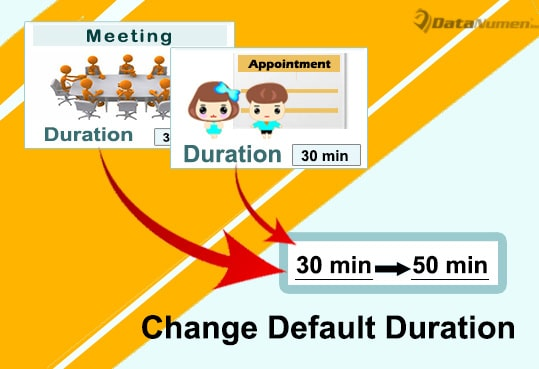 Change the Default Duration of Appointment and Meeting