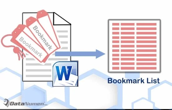 How to Batch Extract All Bookmarks from Your Word Document