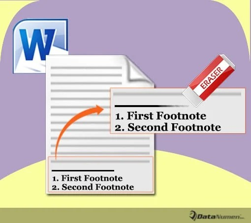 Remove Footnote or Endnote Separator