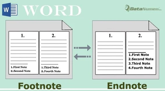 Convert All Footnotes to Endnotes and Vice Versa