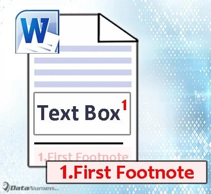 Insert Footnotes or Endnotes for Texts in Text Boxes