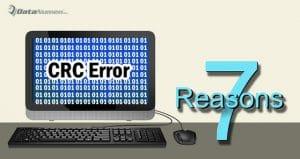 Computer CRC Data Error