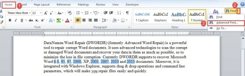 4 Ways To Exclude Numbers In Your Word Document From Word