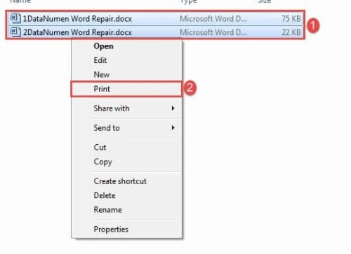 2 Quick Ways to Batch Print Multiple Word Documents - Data Recovery Blog