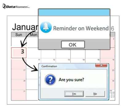 Get a Confirmation before Setting Reminder on Weekend in Your Outlook