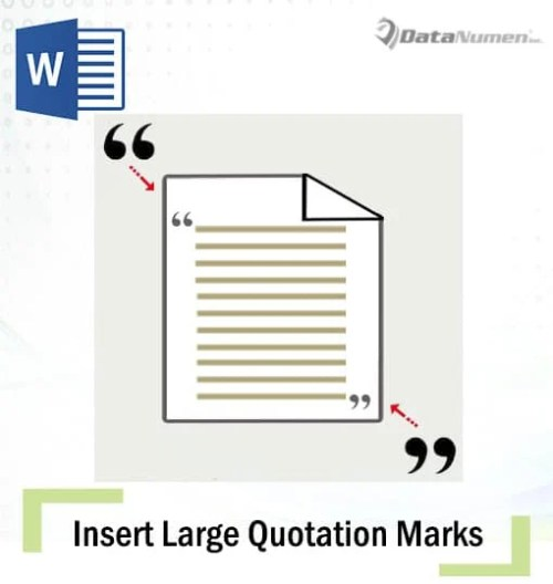 5 useful ways to insert large quotation marks around a paragraph in insert large quotation marks around a paragraph ccuart Image collections