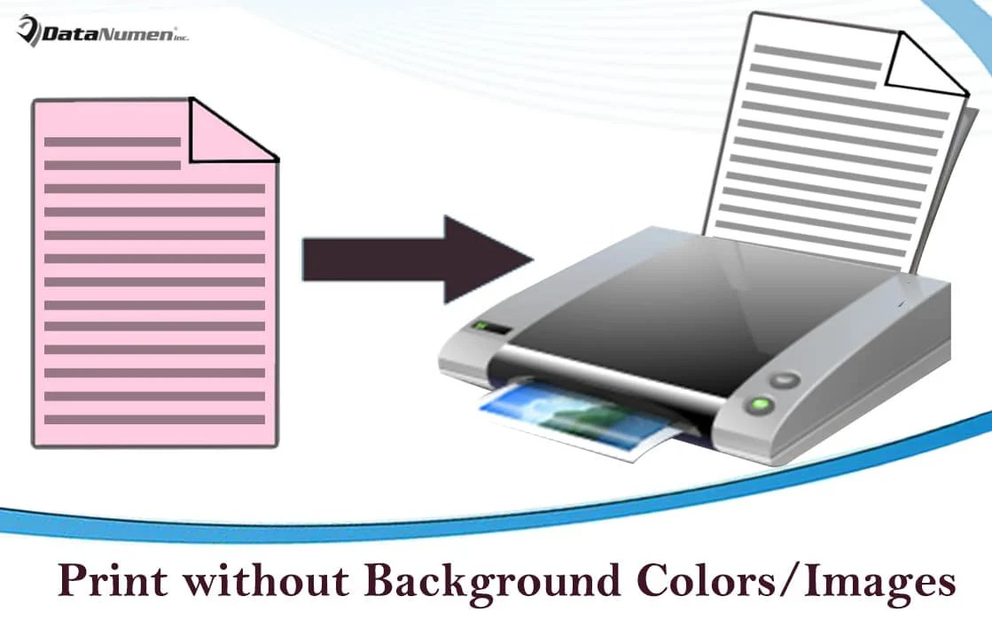 Print Your Word Document without Background Color or Image