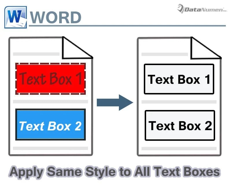 Apply Same Style to All Text Boxes